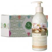 Bottega Verde - Lapte de corp cu ulei si lapte de migdale dulci in cutie cadou