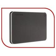 Жесткий диск Toshiba Canvio Premium 1Tb Dark Grey HDTW110EBMAA