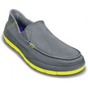 Crocs Stretch Sole M Loafers For Men(Grey)