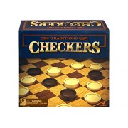 Classic Tabletop Games Traditions Checkers Game Set (Multipack of 3)