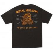 utcai póló férfi - FREEBERD - METAL MULISHA - M345S18314.01_BLK