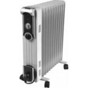 Radiator cu ulei ZASS ZR11SL 2500W 11 elementi 3 trepte Alb Resigilat