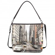 Y Not? Borsa Donna Y NOT a Spalla con Tracolla YES-349 NY Street Style