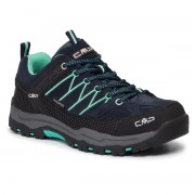 Туристически CMP - Kids Rigel Low Trekking Shoes Wp 3Q13244J B.Blue/Aqua Mint 12ND