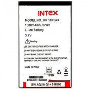 Intex Aqua Q1 Li Ion Polymer Replacement Battery BR1675AX