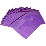 Ajabh High Quality Pack of 6 purple Bridal Single saree travelling bag case Gift Organizer bag vanity pouch Keep saree/Suit/Travelling Pouch(Purple)