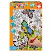 Educa Pillangók színezhető puzzle, 300 darabos