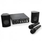 Kompakt PA szett LTC Star-2, USB, SD, MP3, 200 W, 2 x mik (BD-KARAOKE-STAR2)