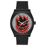 Nixon X Spitfire Time Teller Watch Black Fireball