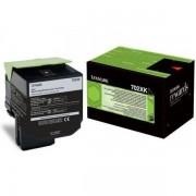 Lexmark 70C2XK0 - 702XK toner negro