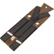 Peluche Y- Back Suspenders for Men, Boys(Black, Brown, White)