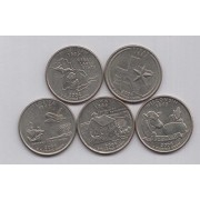 2004 State Quarters of United States of America @ Coins and Stamps