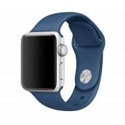 SERO Armband För Apple Watch I Silikon, 42/44mm, Ocean Blue