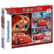 Puzzle 48 Cars Rayo Mcqueen Francesco - Clementoni