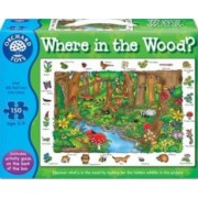 Puzzle Orchard Toys Where In The Woods
