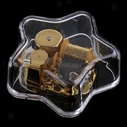 ELECTROPRIME Creative Star-Shaped Music Box Movement Home Decor Xmas, You are My Sunshine