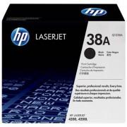 HP 38A svart LaserJet-tonerkassett, original