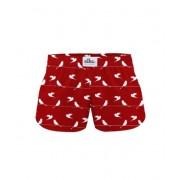 ELKA Underwear Dětské trenky ELKA bordó hrdličky (B0019) 140