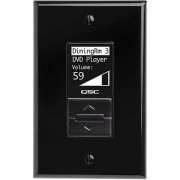 QSC Decora Wall Controller For MP-M mixers Black