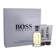 HUGO BOSS Boss Bottled confezione regalo Eau de Toilette 100 ml + balsamo dopobarba 75 ml + doccia gel 50 ml da uomo
