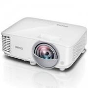 Видео проектор BenQ MX808ST, Short Throw, DLP, XGA(1024x768), 12 000:1, 3000 ANSI Lumens, VGA, HDMI, USB(typeA), Speaker, Бял, 9H.JGP77.13E