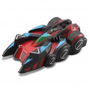 Mini Mur Sol Escalade Rc Racer Télécommande Racing Car Avec Led Toy Cadeau Kid Light (Rouge)