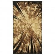Covor Decorino, Floral, polipropilena, C-020177, 80x150 cm, Maro
