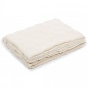 Mont Chalet Coperta double face: un lato a pois, un lato in peluche
