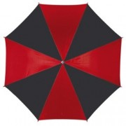 Umbrela Disco Red Black