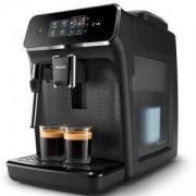 Автоматична еспресо машина Philips EP2220/10, 2200 series 2 напитки, Приставка Classic за разпенване, Сензорен дисплей, цвят Черно