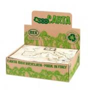 Carte regalo in eco-carta in scatole Rex Sadoch EC400R01 - 305179 Formato 70x100 cm - Colore assortiti - Confezione da 100 - EC400R01