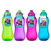 Sistema Drikkedunk 330 Ml Twist n Sip Blå, Pink, Grøn, Lilla. - 1 Stk