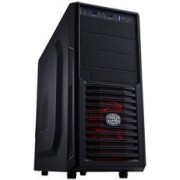 Cooler Master RC-K282-KKN1 Computer Case - Micro ATX, ATX Motherboard Supported - Mid-tower - Hot Dip Galvanized Steel, Polymer, Mesh - Midnight Black - 4.70 kg