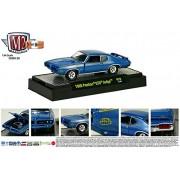 1969 PONTIAC GTO JUDGE * Detroit Muscle Release 28 * M2 Machines 2014 Castline Premium Edition 1:64 Scale Die-Cast...
