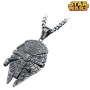 Star Wars Millennium Falcon Pendant Necklace
