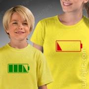 T-shirts Sem Bateria Mãe - Criança