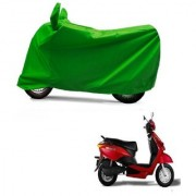 AutoAge Full Green Two Wheeler Cover For Yo EXL