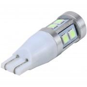 2 Pcs T15 3W - Coche Luz Marcador Coche Luz Con 10 Smd-3030-led Lamparas, DC 12V (Ice Azul Light)