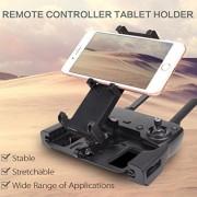 Inverlee Mobile Phone Tablets Mount Bracket Holder Support For DJI Mavic AIR Pro Spark RC (Black)