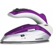 Fier De Calcat Voiaj Heinner 1000W 0.4L Talpa Inox Maner Pliabil Alb-Violet