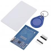 tiendatec MODULO RFID-RC522 KIT RFID NFC CON TARJETA Y LLAVERO PARA ARDUINO Y
