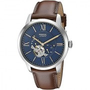 Fossil Townsman Analog Blue Dial Mens Watch - ME3110