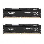 2x8GB DDR4 PC19200 2400MHz Kingston HyperX Fury Black HX424C15FB2K2/16 (16GB)