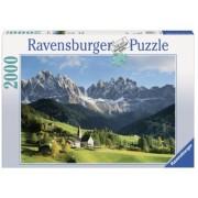 Puzzle Muntii Dolomiti, 2000 Piese Ravensburger