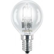 Halogén kisömb izzó EcoClassic30 lustre P45 42W E14 CL Philips