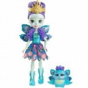 Papusa Enchantimals Patter Peacock cu animal Mattel