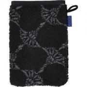 JOOP! Toallas Cornflower Guante de baño negro 16 x 22 cm 1 Stk.