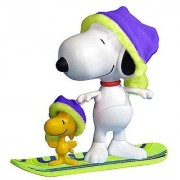 Peanuts 2010 Christmas Deluxe Snowboard Snoopy and woodstock