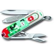 Victorinox 0.6223.L1502 7 Function Multi Utility Swiss Knife(Multicolor)