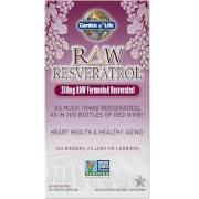 Garden of Life RAW Resveratrol Vegetarian Capsules - 60 Capsules